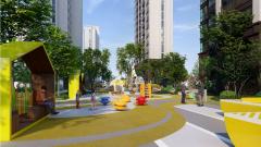 东宝新城,即将首开楼盘,绿地率35%,纯板式低密度住宅,户型周正,南北通透,公摊面积小。售