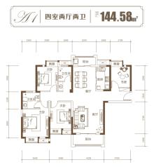 城建地产·长宁太和户型图