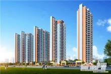 紫荆澜庭高层住宅透视图